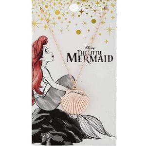 Disney The Little Mermaid Ariel Seashell Rose Gold